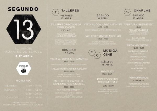 segundo 13 mercado del 13 en Teruel Fundación Amantes de Teruel agenda